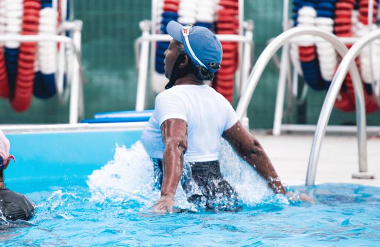 Aqua-cross Training