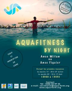 Aquafitness by night